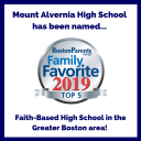 Mount Alvernia High School named a Top 5 Faith-based High School by Boston Parents Paper